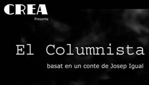 EL COLUMNISTA (DE CREA)
