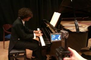 Sessió rodatge #2: pianista