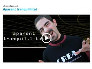 APARENT TRANQUILITAT-HORADEL GAMBOSI